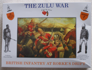 A Call To Arms 1/32 CAL3207 British Infantry at Rorke's Drift (Zulu Wars)